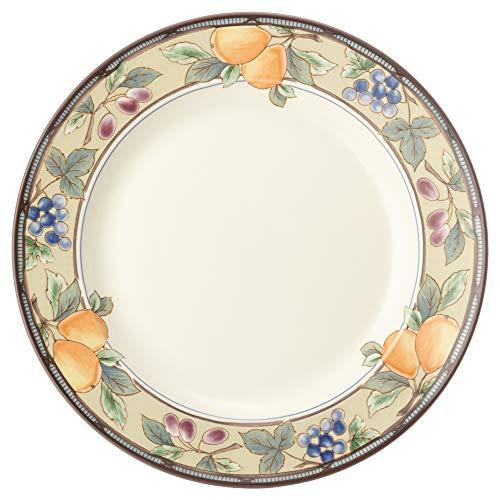 MIKASA プレート皿 ガーデンハーベスト ホワイト 6個セット 直径25×高さ2.5cm 電子レンジ・食洗機・オーブン対応 T-772102