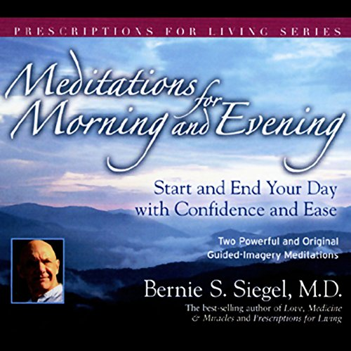 Meditations for Morning and Evening audiobook cover art
