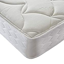 1000 POCKET SPRINGS | Sealy's unique pocket springs work independently to provide tailored comfort and support QUILTED COVER | additional cushioning to create a soft and smooth finish MEDIUM FEEL | with a 21cm mattress depth, ideal for all sleeper ty...