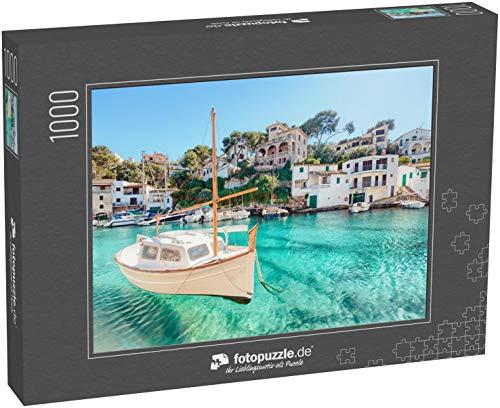 Puzzle 1000 Teile Cala Figuera, Mallorca, Spanien - Klassische Puzzle mit edler Motiv-Schachtel, Fotopuzzle-Kollektion 'Spanien'