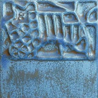 Mayco Elements Glaze, Stormy Blue EL-124, 1 Pint
