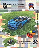 Rust & Resore garage-Car Project log book for Kids & Parents-Have fun together building new vehicles: Children planner to recording your vehicle ... love working on restoring cars. Age 4 to 12