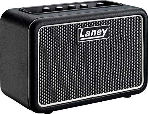Laney MINI-STB-SUPERG Bluetooth Battery Powered Guitar Amp with Smartphone...