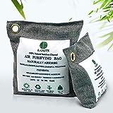 Louis-008 Bolsa de purificación de Aire, Sensor de Olor a carbón Activado 100% Natural, ambientador, deshumidificación doméstica, Agente antimoho, desodorización de Calzado(500g*1,200g*1)