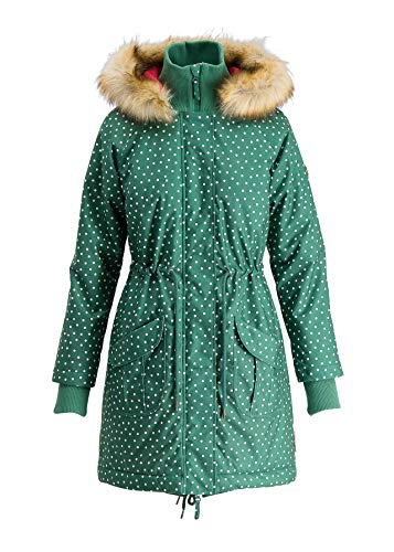 Blutsgeschwister Damen Winterjacke Winter Wonder Woods Parka dot and Faith L