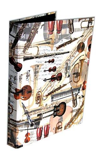 Ringbuch Strumenti (DIN A4) - Schönes Geschenk für Musiker