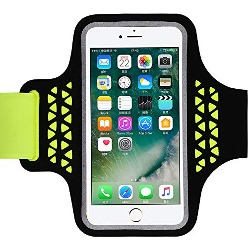 Running Sport Armbanden, Arm Band Holder Phone Case on Hand, voor Iphone 11 Pro XS Max X XR 8 7 6 Plus Samsung A50 S10 S20