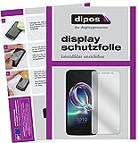 dipos I 2X Schutzfolie klar kompatibel mit Alcatel Idol 5 Folie Bildschirmschutzfolie