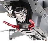MoreToys Gimbal Board Guard Carbon Fiber Protective Plate Gimbal Protector for DJI Mavic Pro Quadcopter Drone