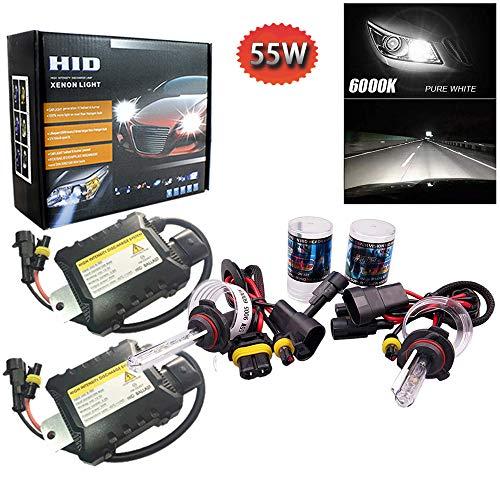 PolarLander 1 Paire CANBUS HID Xenon Kits De Voiture Phare Slim Ballast Xénon Ampoule Ballast Conversion 9005 Couleur Température 6000 K