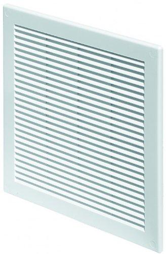 Lüftungsgitter 15 x 20 cm Abschlussgitter Insektenschutz 150 x 200 mm weiß Gitter Lüftung TRU 28