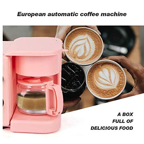51TM Z1K+pL - Qinmo E-Ofen, Multifunktions-Frühstück Maschine, Non-Stick Bratpfanne Sandwich Hot Dog Toast Pizza Spiegelei Home Küche Elektro-Ofen (Farbe: Schwarz) (Farbe: Schwarz) (Größe: Pink), Größe: Rosa