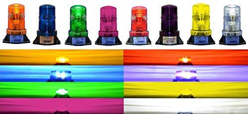 ESafety Lights B1L240 220V 240V AC LED Non-Flashing Steady-ON Warning Light SMAL Beacon (Amber)