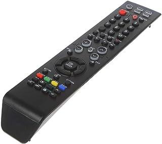 QHKS Mandos a Distancia Remoto del HDTV LED de Control de DVD VCR Universal for Samsung T220HD BN59-00624A T240HD (Color : Negro)