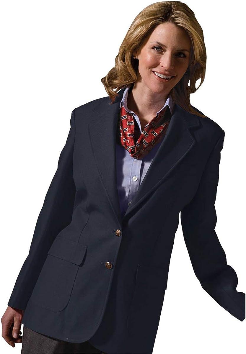 Edwards Women's Polyester Blazer, Dark Navy, 18