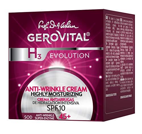 Gerovital - Crema antiarrugas de hidratación intensiva