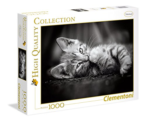 Clementoni- Kitty Puzzle, 1000 Piezas, Multicolor (39422.7)