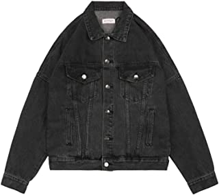 Palm Angels Black Denim Logo Jacket