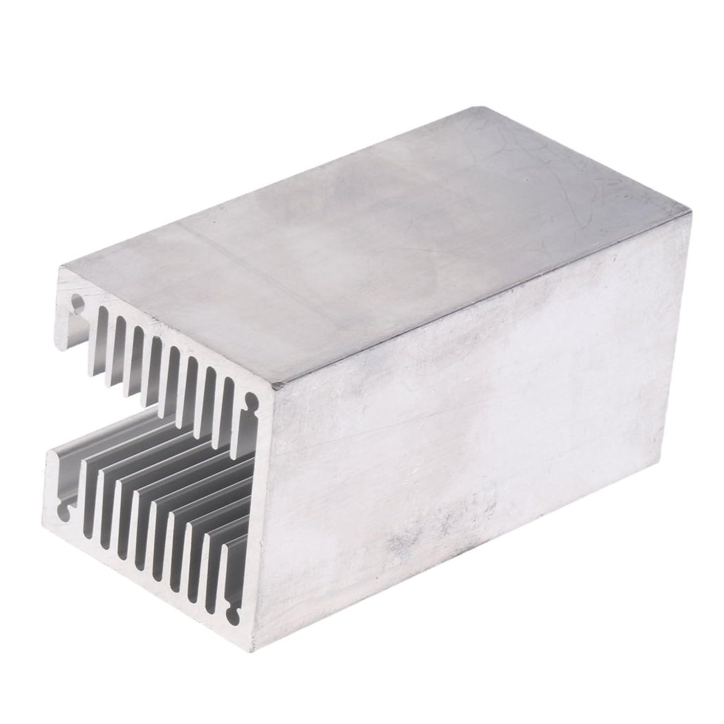Flameer Aluminum Heatsink Radiator U Slotted HeatSink Cooling Cooler 40x40x80mm