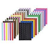 VIPbuy 2244 Count (22 Colors Assorted) Photo Mounting Corner Stickers Self Adhesive for Sc...