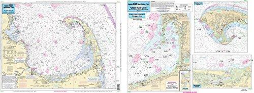 Harbors of Cape Cod Bay, MA - Laminated Nautical Navigation & Fishing Chart by Captain Segull's Nautical Sportfishing Charts | Chart # WB111