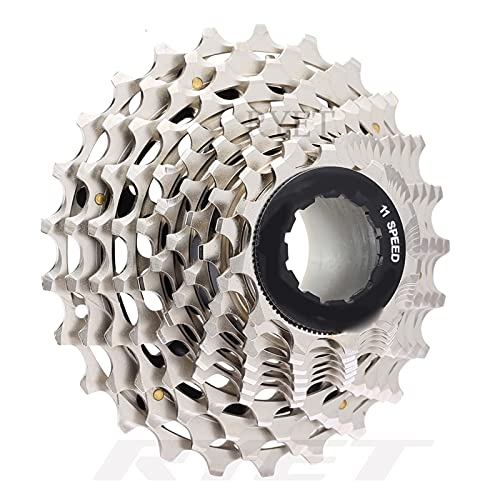 Casete de Bicicleta Bicicleta De Carretera 11 Velocidades 11-25T Cassette Ultraligero CNC Bicicleta 11S Piñón Libre para S-himano para SRAM R9100