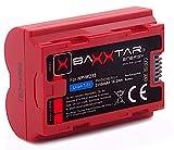 Baxxtar Pro - reemplazo para la batería Fujifilm NP-W235 (2250mAh) Compatible con Fujifilm X-T4