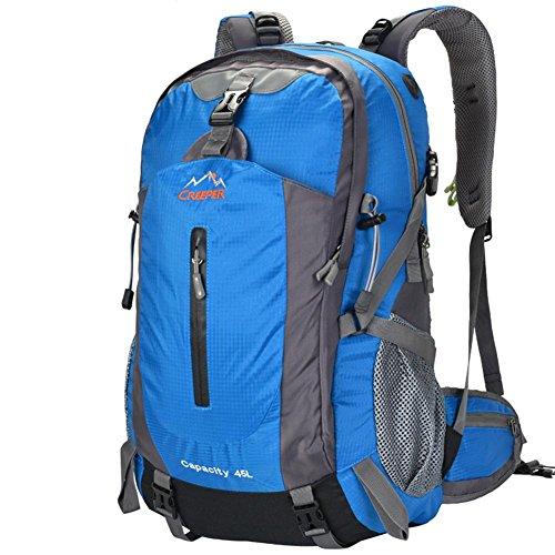 Mode Voyage Sac à dos Double Shoulder Bag Big Volume Colorful Sac à dos de haute qualité Sac étanche 50L , 2