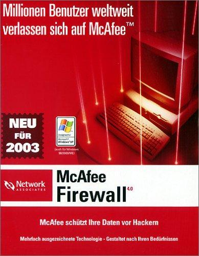 Promo/McAfee Firewall 4.0 1u CD
