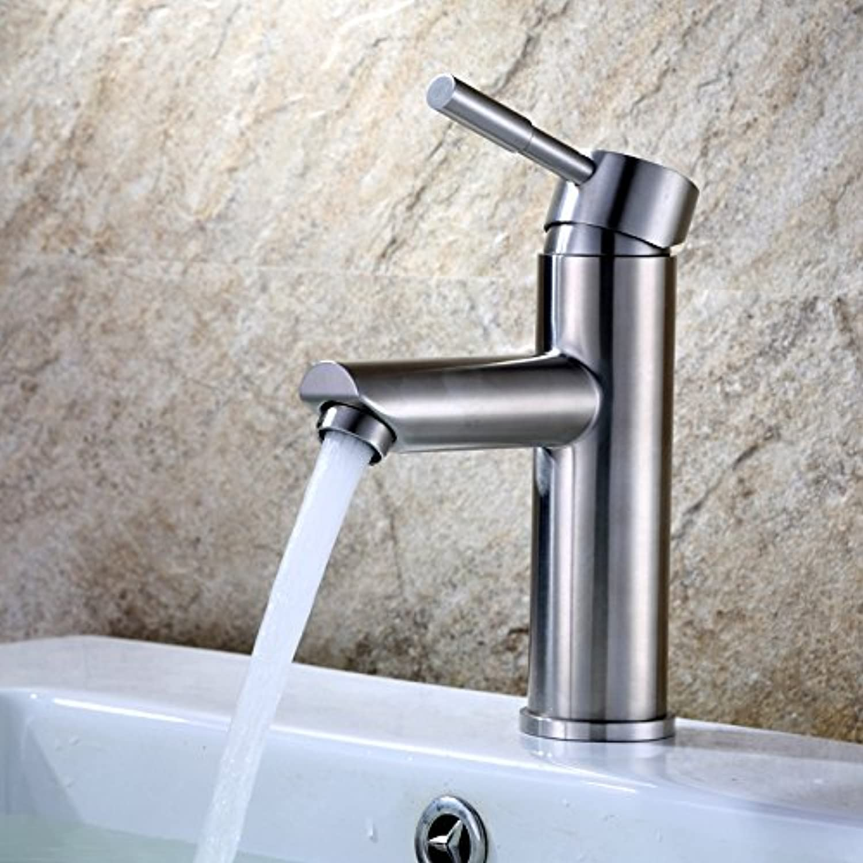 ETERNAL QUALITY Badezimmer Waschbecken Wasserhahn Messing Hahn Waschraum Mischer Mischbatterie Hong Kong Level OKOK volle 304 Edelstahl Feinguss kaltes Wasser heies Wass