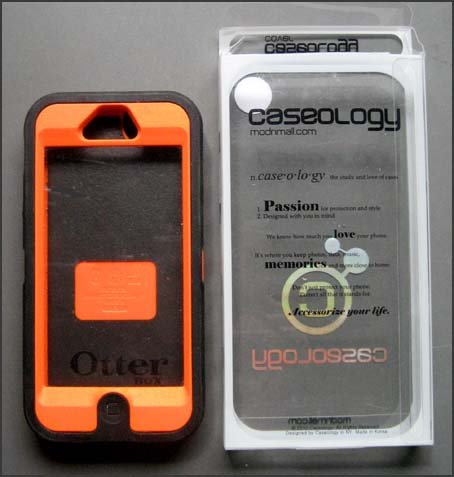 iPhone 5/5S OutterBox Florescent Orange