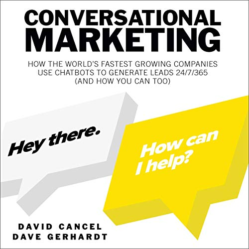 Page de couverture de Conversational Marketing