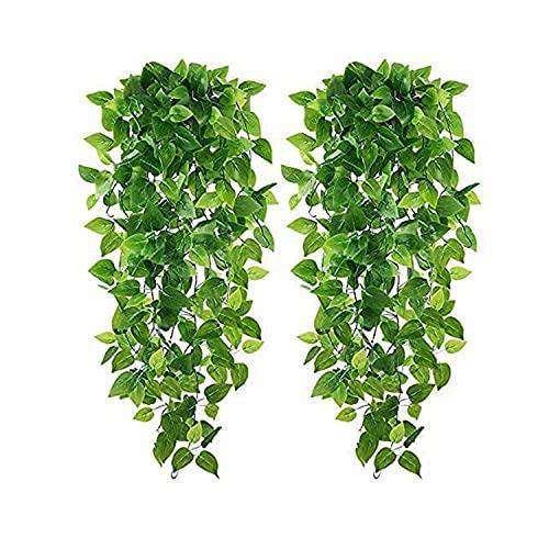 Carmer Guirnalda colgante artificial Ivy para colgar en la pared, para boda,...