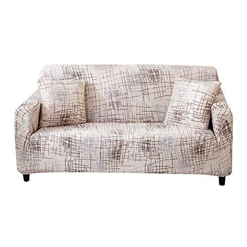 Garsent Elastische stofdichte bank Slipcover, modern design meubelhoes/beschermhoes kussenbeschermer, stijlvolle stretch hond kat huisdier bank cover