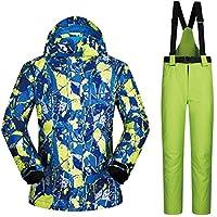TXOTO スノーボード 上下セット メンズ スキーウェア セットアップ 保温 撥水 ジャケット パンツ