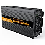 EDECOA inversor ONDA PURA 12v 220v convertidor 12v 220v 1500w y pico de...