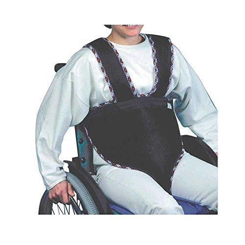 1x Behrend Rollstuhl-Sitzhose, Träger, Rollstuhlfixierung, Rollstuhlhose, für Erwachsene, 180 cm