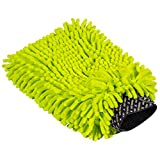 Chemical Guys Chenille Premium Scratch-Free Microfiber Wash Mitt,, MIC493, Lime Green