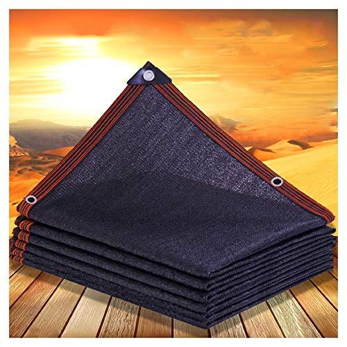 ZHANGQINGXIU Malla Sombra De Red,Sun Sail Shade Rectangular Protección Solar Aislamiento Anti-UV Patio Techo Flores Cubrir Carpa Al Aire Libre Piscina Sombrilla, 49 Tamaños