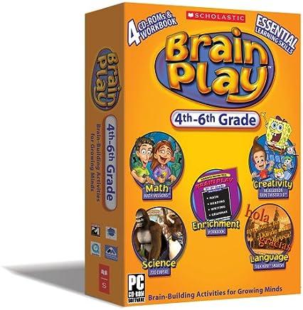 Scholastic Brain Play: 4th - 6th grade [Old Version]