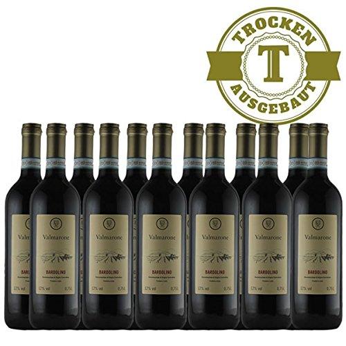 Rotwein Italien Bardolino trocken (12 x 0,75l)