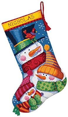 Dimensions Crafts Needlecrafts Needlepoint Stocking Kit