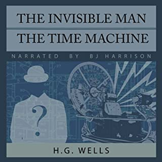 The Invisible Man and The Time Machine audiobook cover art