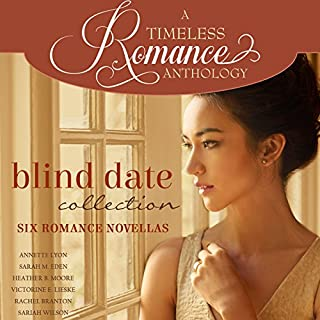 Blind Date Collection     Six Romance Novellas              By:                                                                                                                                 Annette Lyon,                                                                                        Sarah M. Eden,                                                                                        Heather B. Moore,                   and others                          Narrated by:                                                                                                                                 Ashley Klanac                      Length: 10 hrs and 30 mins     24 ratings     Overall 4.5