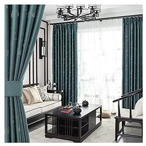 Fullskuggningsljus Lyx Jacquard elektrisk gardin, texturerat mörkläggningsgardiner för värmeisolerad hushållsartiklar