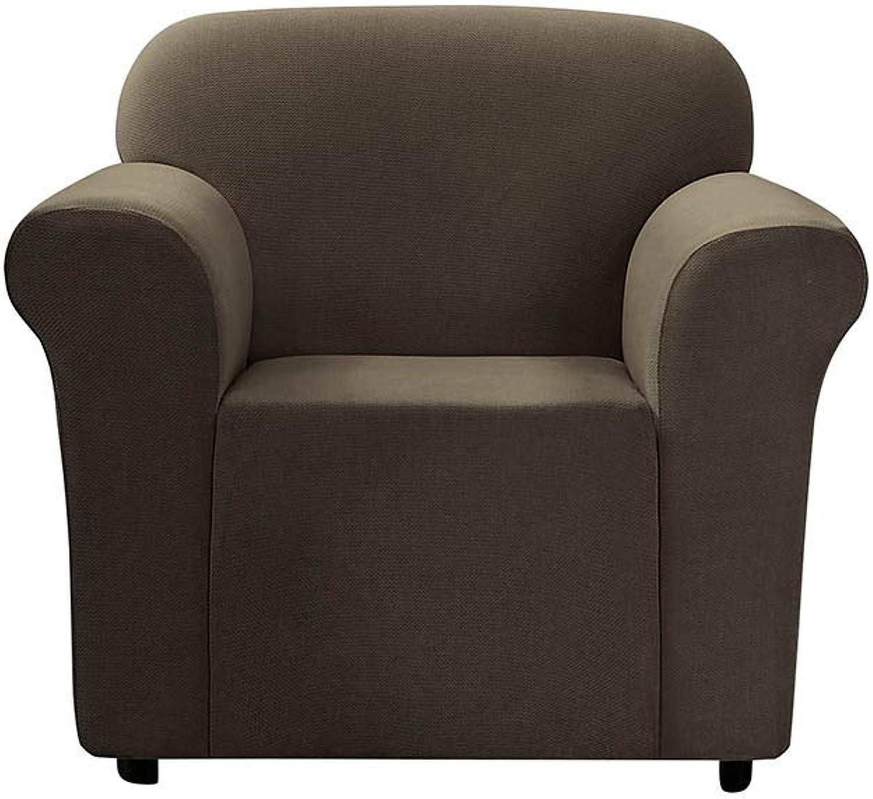 SureFit  Stretch Mini Chevron Chair Slipcover - Dark Chocolate,Chair