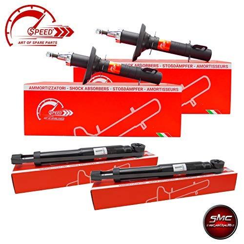 ricambi auto smc Kit 4 AMMORTIZZATORI Speed Ant + Post SPS55028 + SPS55001
