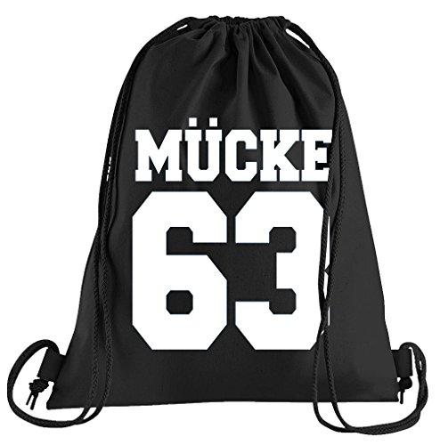 Mücke 63 Sportbeutel – bedruckter Beutel – eine schöne Sport-Tasche Beutel mit Kordeln