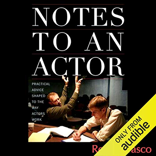 Notes to an Actor audiobook cover art