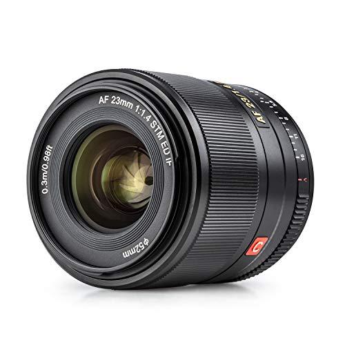 VILTROX 単焦点レンズ AF 23mm F1.4 STM F1.4大口径 瞳AF ソニーEマウント交換レンズAPS-Cサイズ 軽量 柔らかいボケ味 APS-C/フルサイズカメラ適用A5100/A6100/A6300/A6400/6500/6600/a7/a7R/a7Ⅱ/a7RⅡ/a7Ⅲ/a7RⅢ/a7SⅢ/a7RⅣ/a9